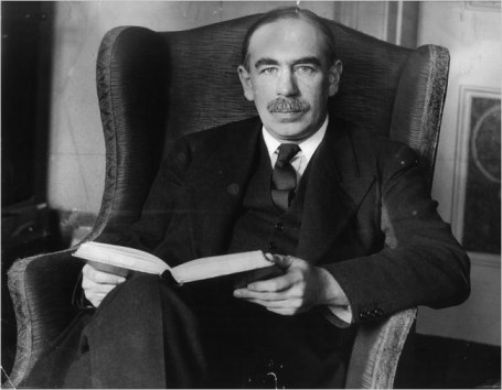 John Maynard Keynes. Foto: United Press International.
