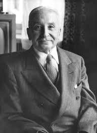 Ludwig von Mises (1881 – 1973).