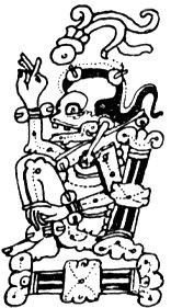 Ah Puch, dios maya de la muerte.