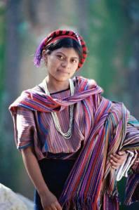 Mujer maya (San Juán Atitlán, Guatemala).