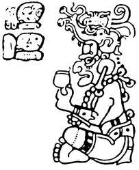 Itzamná, dios creador maya.