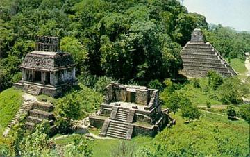 Ruinas mayas de Palenque.
