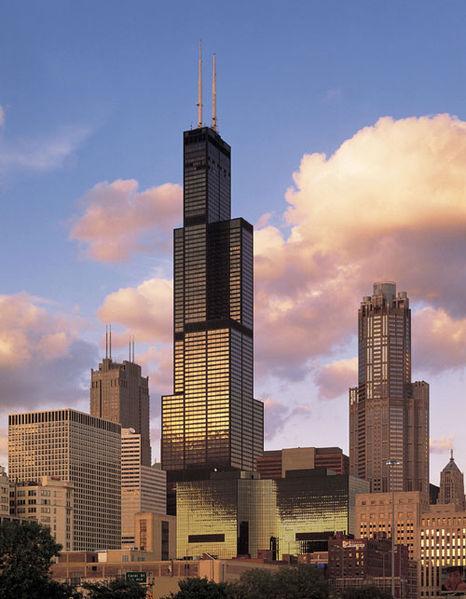 Torres Willis, antiguamente, Torres Sears, en Chicago.