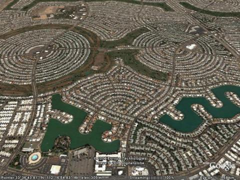 Sun City, Arizona.