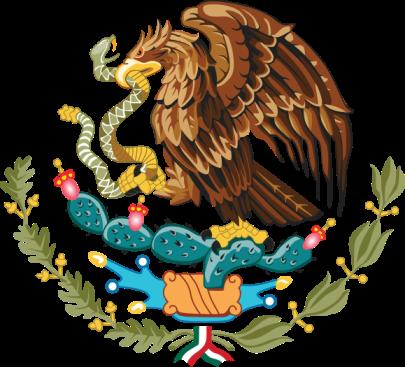 Escudo de México.