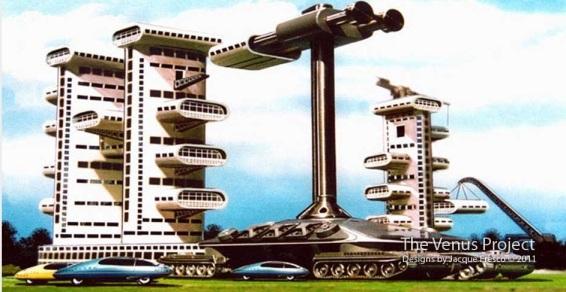 """La misma megamáquina, distinta... """"configuración"""". Y automóviles de tres ruedas."""