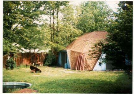 Casa domo en Carbondale. Illinois. Buckminster Fuller.
