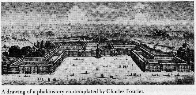 Falansterio idealizado por Charles Fourier.
