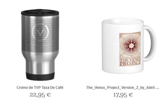Merchandising del Proyecto Venus.