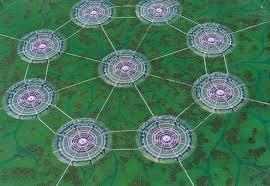 Sistema radial de ciudades circulares de Jacque Fresco.