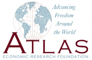 Logo y lema de la Atlas Economic Research foundation.