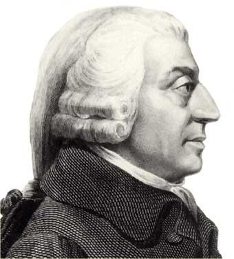Adam Smith (1723-1790), autor de