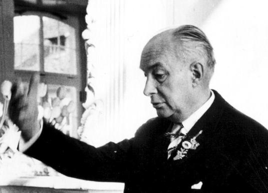 Alexander Rüstow (1885-1963), sociólogo y economista alemán,  uno de los padres del ordoliberalismo y de la economía social de mercado.