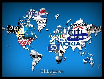 Imagen alegórica de la globalización.
