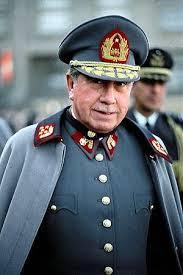 El general Augusto José Ramón Pinochet Ugarte (Valparaíso, 25 de noviembre de 1915 - Santiago, 10 de diciembre de 2006) fue un militar chileno que encabezó la dictadura militar existente en ese país entre los años 1973 y 1990, después de haber derrocado al presidente Salvador Allende en un golpe de estado el 11 de septiembre de 1973.