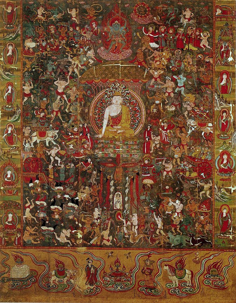 800px-Dunhuang_Mara_Budda