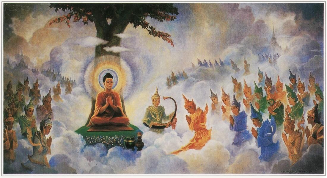 Buda y los devas