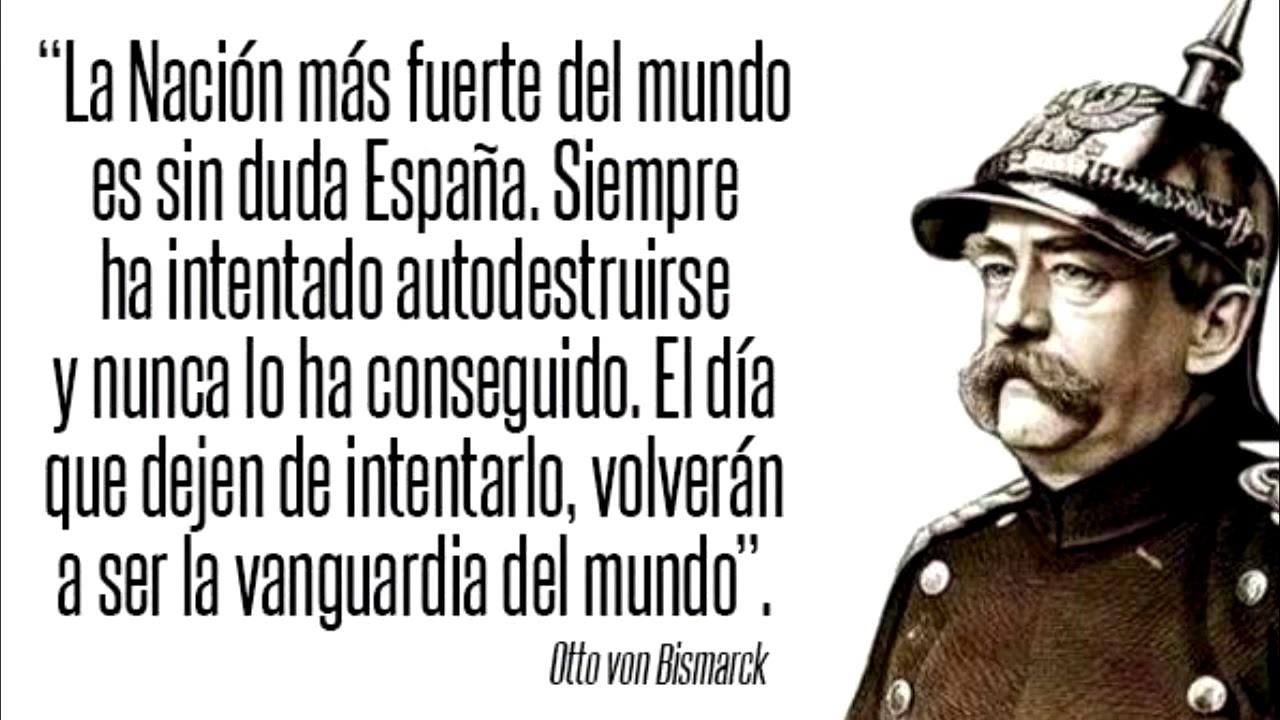 Spexit (o la nueva tomadura de pelo de la UE a España) Bismarck-cita-espac3b1a