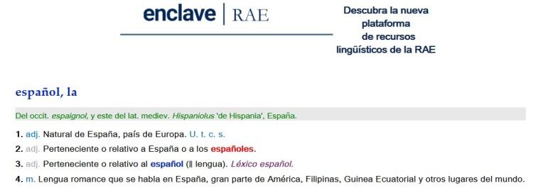 Español RAE