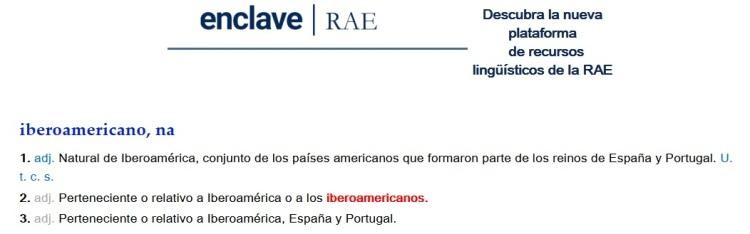Iberoamericano RAE
